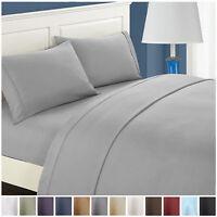 Luxury Hotel Collection Comfort Soft Deep Pocket Bed Sheet Set