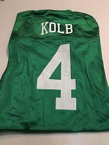 KEVIN KOLB #4 PHILADELPHIA EAGLES NFL REPLICA KELLY GREEN JERSEY FREE SHIPPING