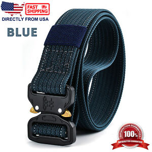 Mens Tactical Rigger's Belt Military Training Heavy Duty Nylon Quick Release