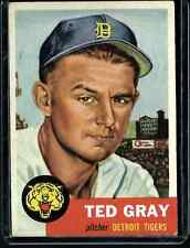 1953 Topps Ted Gray # 52 EX+