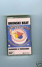 CASSETTE TAPE NEW BRONSKI BEAT HUNDREDS & THOUSANDS