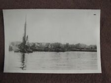 Ww2 Scene Along The Docks Of Naples, Italy Vtg 1940's Photo