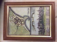 Map of Towns of Ireland , 1730 reproduction canvas map