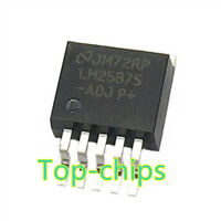 10 PCS LM2587S-ADJ TO-263 LM2587 5A Flyback Regulator