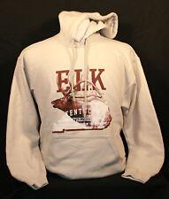 Kentucky Elk Long Sleeve Hooded Sweatshirt RMEF