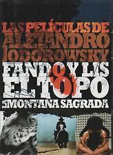 El Topo / La Montana Sagrada / La Corbata / Fando Y Lis - DVD NEW 4 Pk Boxed Set