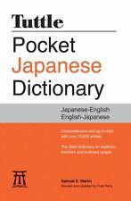 Tuttle Pocket Japanese Dictionary: Japanese-English English-Japanese by Martin..