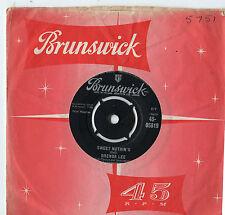 "Brenda Lee - Sweet Nuthin's / Weep No More My Baby 7"" Single 1960"