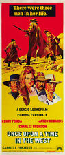 Once upon a time in the west (1968) Sergio Leone western movie poster print 4