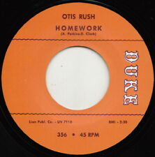 ** OTIS RUSH  HOMEWORK  TOTAL CLASSIC DRIVING MID PACED R&B CROSSOVER!!