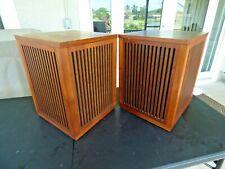 Rare Vintage Pair of Japan 1974+- Realistic Optimus 4 Omni-Directional Speakers