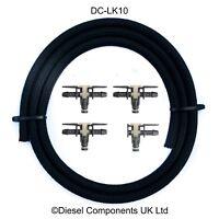 VW 2.0 TDI Diesel Injector Leak Off Connector Return & Pipe Complete Kit