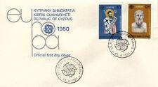 Cyprus 1980 Europa SG 540/1 FDC