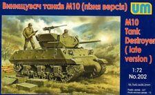 UNIMODEL 1/72 M10 Tank Destroyer (versione in ritardo) # 202