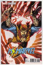 Ms Marvel #20 Lady Deathstrike X-Men Trading Card by Jim Lee Variant Cover