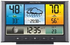 AcuRite Digital Weather Forecasting Station Weather Clock with Color Display