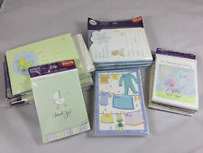Lot Of 14 Packages Hallmark/Heartline Baby Birth Announcements,Shower Invites