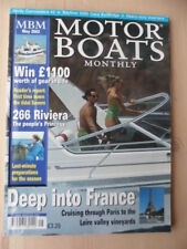 Motor Boats Monthly-Mai 2002-Hardy Commodore 42-Azimut, Bavaria 2455