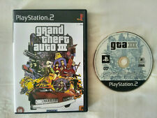GRAND THEFT AUTO III / GTA   PLAYSTATION 2 / PS2  PAL ESPAÑA