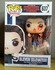 "MILLIE BOBBY BROWN ""AUTOGRAPHED HAND SIGNED"" FUNKO POP - STRANGER THINGS ELEVEN"