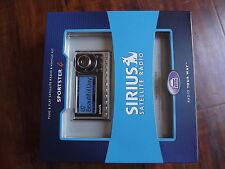New sealed Sirius Sportster 4 SP4-TK1 XM Satellite Radio Receiver W/Car Kit sp4