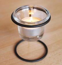 Teelichthalter 11151A Kerzenhalter H-9cm D-6,5cm Teelicht Windlicht Teelichtglas