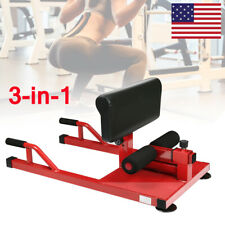 Sissy Squat Push Up Ab Workout Home Gym Sit Up Machine Strength Fitness Workout