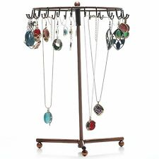 Rotating Jewelry Holder Stand Display Organizer for Earrings Necklaces Bracelet