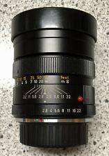 Leica ELMARIT-R 90mm f/2.8 MF Lens with Nikon F mount