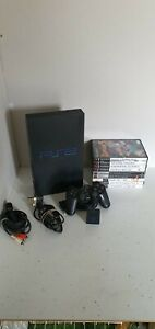 Ps2 Console With 9 Games Bundle