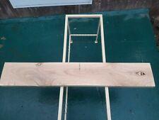 1 Roteichenholzbrett 100 cm x 16 cm x 30 mm gehobelt N4   2017