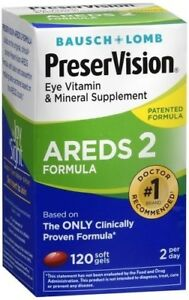 PRESERVISION AREDS 2  120 COUNT