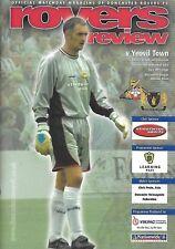 Football Programme>DONCASTER ROVERS v YEOVIL TOWN Sept 2003