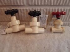 3 new PVCV water valves