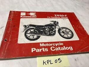 Kawasaki Z650 F2 Z650-F catalogue pièces détachées spare parts list Z KZ 650