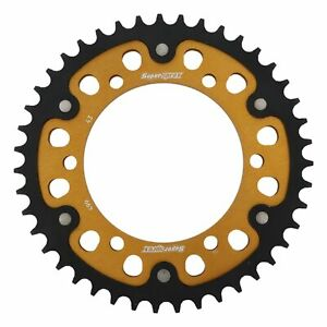 New - Gold Stealth sprocket 43T Chain Size 530