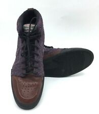 Nike Air Royal Mid Harris Tweed Pack Brown Purple Sz 9 US Mens Shoes 419444-500