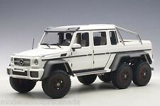 MERCEDES-BENZ G63 AMG 6X6 MATT WHITE 1:18 AUTOART 76303 BRAND NEW RELEASE IN BOX