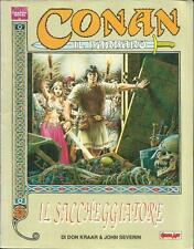 CONAN Il Saccheggiatore (Comic Art, 1989) Graphic Novel
