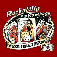 Rockabilly Rampage: 50  Crucial Rockabilly Recordings [CD]