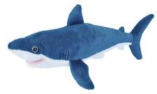 """Wild Republic Cuddlekins Mini 17"""" Mako Shark Plush Soft Toy Cuddly Teddy 21478"""