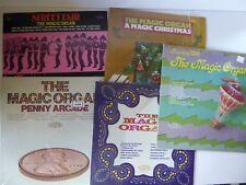 The Magic Organ Collection of 5 Vinyl LPs inc Penny Arcade Christmas Street Fair