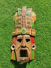 Mexican Mayan Wood Mask