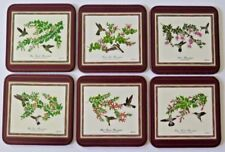 6 PIMPERNEL COASTERS HUMMING BIRD THEME TABLE TOP DINING