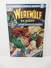 Werewolf By Night Marvel Horror Comic Book #14 Marv Wolfman Story Mike Ploog Art