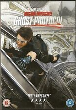 MISSION: IMPOSSIBLE - GHOST PROTOCOL. Tom Cruise, Jeremy Renner, Simon Pegg (DVD