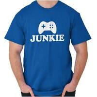 Video Game Gamer Nerdy Geek Funny Gaming Short Sleeve T-Shirt Tees Tshirts