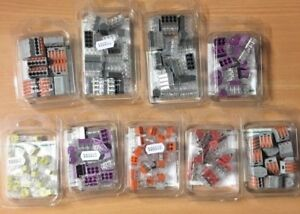 WAGO SERIES PUSH WIRE & LEVER CONNECTORS - * VARIOUS TO SELECT *