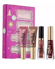 TOO FACED Under The Kissletoe The Ultimate 🌹Liquified Lipstick Set (4 Pcs)