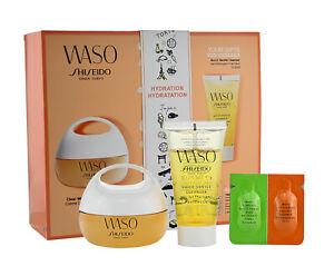 Shiseido Waso Clear Mega Hydrating Creme 50ml  4 Tlg